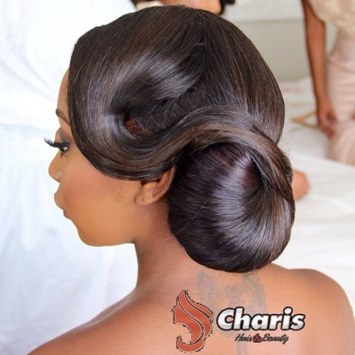 African-American-vintage-chignon