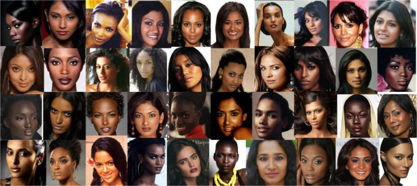 black+and+brown+women